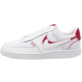 2020.03 Nike Perfect Air Force 1 Court Vision LO PRM White Noble Red  Women Shoes -LY(12)