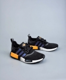 2020.03 Super Max Perfect Adidas NMD R1 Core Black Solar Orange Real Boost Men And Women Shoes(98%Authentic)- LY (7)