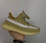 "2020.3 Super Max Perfect Adidas Yeezy Boost 350 V2 ""Marsh"" Men And Women ShoesFX9034-LYMTX"