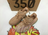 "Super Max Perfect Adidas Yeezy 350 Kid Boost V2 ""Clay""(Real Boost-98%Authentic)- JB"