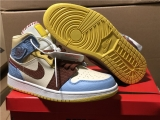 "2020.04 Super Max Perfect Air Jordan 1 High Mid""Fearless""Women Shoes -ZL"