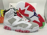 "2020.04 Super Max Perfect Air Jordan 6 ""Hare ""Men shoes -SY"