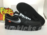 (Final Version)Authentic Nike Air Force 1 x OFF-WHITE Men And Women Shoes-Dong