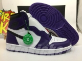 "2020.3 (Final version)Authentic Air Jordan 1 High OG ""Court Purple"" -ZLDG"