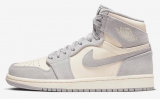 "2020.5 Normal Authentic quality and Low price Air Jordan 1 ""Pale Lvory"" Men And GS Shoes- LJR"