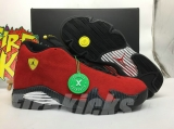 "2020.5 Authentic Air Jordan 14  ""Ferrari"" -ZL"
