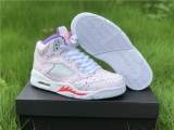 "2020.6 Super Max Perfect Air Jordan 5 ""Easter"" Women Shoes -ZL"