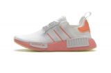 2020.07 Super Max Perfect Adidas NMD R1 White Pink Orange Women Shoes(98%Authentic)- LY (35)