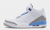 "2020.7 Super Max Perfect Air Jordan 3 ""UNC"" Women Shoes -ZL"