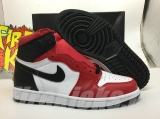 "2020.05 Normal Authentic quality and Low price Air Jordan 1 High ""Satin Snake"" Men And GS Shoes- LJR"