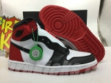 "(Final version)Authentic Air Jordan 1 Satin WMNS  ""Black Toe""-ZLDG"