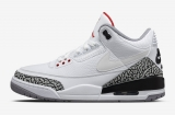 "2020.7 Authentic Air Jordan 3""Tinker White Cement""- LY"