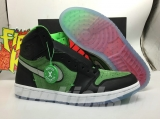 "2020.4 Authentic Air Jordan 1 High Zoom""Rage Green""-ZL"