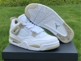 "2020.8 Super Max Perfect Air Jordan 4 ""Linen""Women Shoes - ZL"
