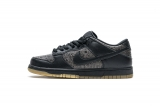 2020.7 Perfect Nike Dunk Low Pro SB Black Ostrich Skate Men  Shoes-LY (38)