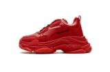 2020.8 Authentic Belishijia Triple S Letter Bright Red Men And Women Shoes -LY (96)