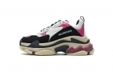 2020.8 Authentic Belishijia Triple S Black Pink Men And Women Shoes -LY (101)