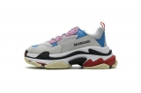 2020.8 Authentic Belishijia Triple S Pink Bright Blue Men And Women Shoes -LY (98)