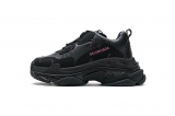 2020.8 Authentic Belishijia Triple S Letter Black Pink Men And Women Shoes -LY (99)