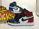 "(Final version)Authentic Air Jordan 1 ""What The "" GS- ZLDG"