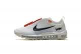 2020.8 (New factory)OFF-WHITE  x Authentic Nike Air Max 97 OG Men And Women Shoes-LY800 (3)