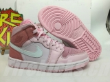 "2020.06 Normal Authentic quality and Low price Air Jordan 1 Mid""Digital Pink"" Men And GS Shoes- LJR"