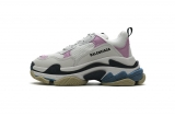 2020.8 Authentic Belishijia Triple S Blue Pink Women Shoes -LY (109)