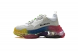 2020.8 Authentic Belishijia Triple S Rainbow Men And Women Shoes -LY (114)