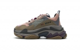 2020.8 Authentic Belishijia Triple S Grey Pink  Women Shoes -LY (117)