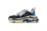 2020.8 Authentic Belishijia Triple S Black Grey Blue Men And Women Shoes -LY (116)