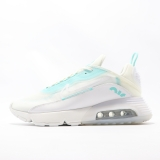 2020.09 Authentic Nike Air Max 2090 White Aurora Green  Men And Women Shoes -LY(11)