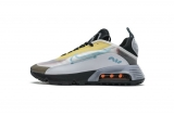 2020.09 Authentic Nike Air Max 2090 Speed Yellow Aqua Men And Women Shoes -LY (12)