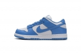 2020.9 Perfect Nike Dunk Low SP White Blue Men Shoes-LY (46)