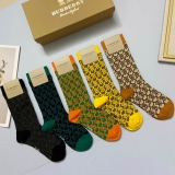 2020.9 (With Box) A Box of Burberry socks -QQ (13)
