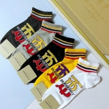 2020.9 (With Box) A Box of Burberry socks -QQ (12)