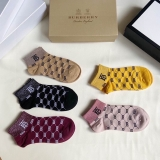 2020.9 (With Box) A Box of Burberry socks -QQ (17)