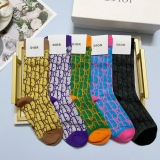 2020.9 (With Box) A Box of Dior Socks -QQ (3)