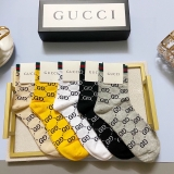 2020.9 (With Box) A Box of Gucci Socks -QQ (58)