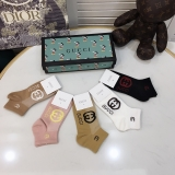 2020.9 (With Box) A Box of Gucci Socks -QQ (74)