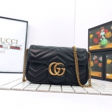 2020.9 Authentic Gucci Marmont Bag -XJ900 (19)