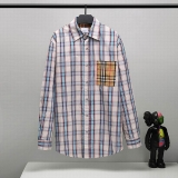 2020.09 Burberry long shirt man S-L (55)