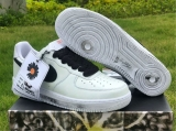"2020.10 PEACEMINUSONE x Authentic Nike Air Force 1""Para-Noise 2.0""Men And Women Shoes -ZL"
