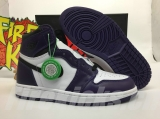 "(Final version)Authentic Air Jordan 1 High OG"" Court Purple"" GS- ZLDG"