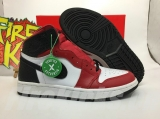 "2020.8 (Final version)Authentic Air Jordan 1 ""Satin Snake""GS-ZLDG"
