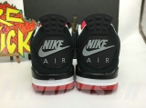 "2020.10 Super Max Perfect Air Jordan 4 ""Bred"" Women Shoes -SY480"