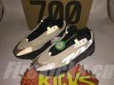 "2020.6 Authentic Adidas Yeezy 700 Boost MNVN""Bone"" Men And Women Shoes -ZLDG"