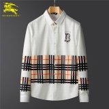2020.10 Burberry long shirt man M-3XL (58)