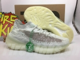 "2020.10 Authentic Adidas Yeezy Boost 380 ""Calcite Glow"" Men And Women Shoes -ZL"