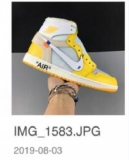2020.11 Super Max Perfect OFF-WHITE x Air Jordan 1 Men And Women Shoes -SY