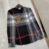 2020.11 Burberry long shirt man S-2XL (79)